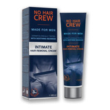 No Hair Crew Intimate Crema Depilatoria Íntima Para Hombre