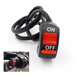 Switch Apagador Interruptor Motocicleta Auxiliar Luces Foco