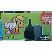 Bomba De Agua Sumergible 1200l/h 2m Peces Pecera