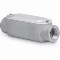 Condulet Conexion Tipo C 1 Pulgada Con Tapa Voltech 46984