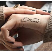 Tatuaje Temporales Infinito Tu Y Yo