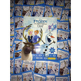 Álbum Frozen Una Aventura De Olaf + 50 Sobres (250 Estampas)