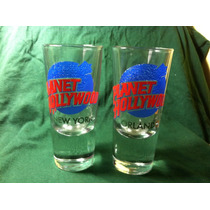 Set De Vasos Planet Hollywood New York/orlando