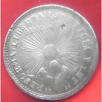 Moneda 2 Pesos Guerrero 1914 Revolucion Mexico Plata