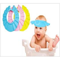 Gorrito Para Baño O Sol Para Bebe O Niños Azul Amarillo