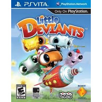 Ps Vita Little Deviants Nuevo Y Sellado