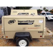 Compresor Ingersollrand 185cfm Olla De Sandblast Y Rompedora