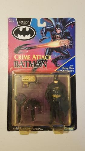 Batman Returns 1992 Kenner Crime Attack Vintage