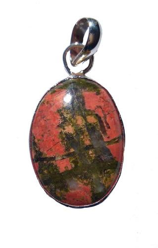 0171d1ca8d67 Dije Plata Ley .925 Joyeria Artesanal Piedra De Sangre