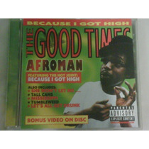 Cd De Afroman:the Good Times 2001 Video En El Cd