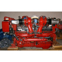 Motor Marino 12v-149 Turbo Intercoller Electronico, 1800hp