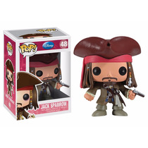 Jack Sparrow Funko Pop Piratas Del Caribe Disney Davy Jones