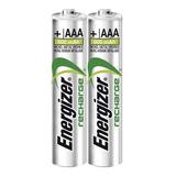 Pila Recargable Aaa Energizer Original De 800 Mah 2 Piezas