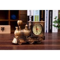 Reloj De Tren Vintage Antiguo