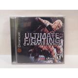 Ultimate Fighting Championship Para Sega Dreamcast