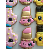 Galletas Decoradas Shopkins Fiestas Infantiles Dia Niño En