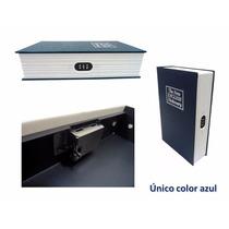 Caja Fuerte Seguridad Camuflaje De Libro De Combinacion 23cm