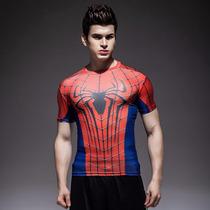 Playera Dry-fit Under Armour Punisher, Wolverine,spiderman