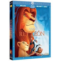 Outlet Disney El Rey Leon Edicion Diamante Blu Ray