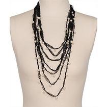 1f7c59656c4d Collar De Encaje Con Perlas Hermoso Forever 21 Moda Joyeria en venta ...