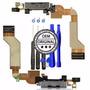 Kit Completo Iphone 4s Flex Centro Carga Con Microfono Orig