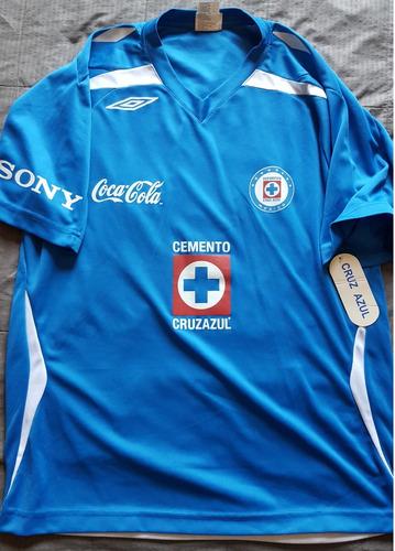 b6eb14d2e Jersey Playera Cruz Azul Maquina Celeste Aficionado Nueva L