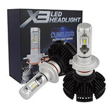 2 Focos Hyper Led X3 Lumiled H1 H3 H7 H11 9005 9006 12000 L