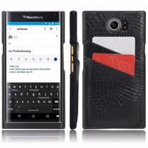 Funda Carcasa Para Blackberry Priv Marca Hl Ranura (negro)