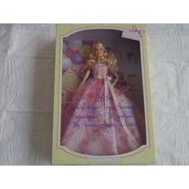 Barbie Birthday Wishes 2014 Vestido Rosa