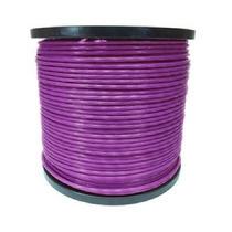 Cable De Acero Recubrimiento Pvc 7x7 1/16-3/32 300 M Morado