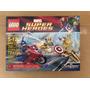 Lego 6865 Super Heroes Avengers Capitán América Motocicleta