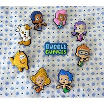 Bubble Guppies Pvc Accesorios De Zapatos Niñ@ Crocs Oferta!