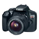 Camara Canon Fotográfica Eos Rebel T6 18 Mpx 1159c005aa