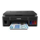Impresora A Color Multifunción Canon Pixma G2100 110v/220v Negra