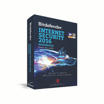Bitdefender Internet Security Mult 2016 2yr 1+1 Usr Mx (tmbd