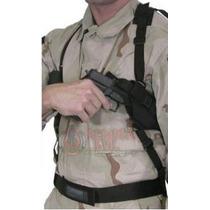 Funda Sobaquera Táctica Con Portacargador Pistola 9mm Oculta
