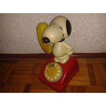 Telefono Snoopy Antiguo Vintage Lililedy