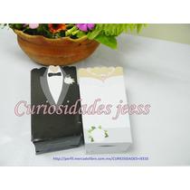 10 Cajas Cajitas Novios Recuerdo Boda $70 Tamaño Grande