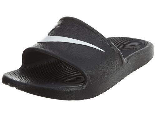 f06629464823 Sandalias Nike Kawa Shower Negro Blanco 25-29 Originales