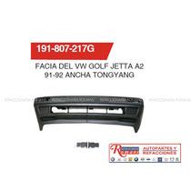 Fascia Del Vw Golf Jetta A2 91-92/ Accesorios