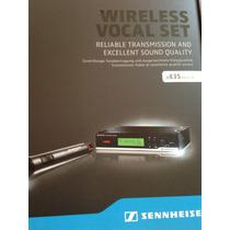 Microfono Inhalambrico Profesional Sennheiser Xsw-35 _vv4