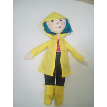 Muñeca Coraline Jones En Manta
