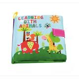 Libro León De Tela Para Bebés Suave Juguete Educativo
