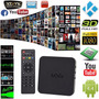 Android Tv 4.4 Kitkat Smart Tv 1080p Quad Mxq Kodi 4k Xbmc