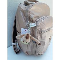 72ec36374 Kipling Mochila Backpack Seoul Grande Rose Gold Original en venta en ...