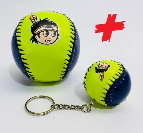Pelota Béisbol + Llavero Yaquis De Obregon Lmp Baseball Piel en ... 37cfc3cc804