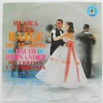 Musica Para Baile De 15 Años 1 Disco Lp Vinil