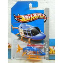 Hot Wheels Helicoptero Propper Choper 42/250 Azul 2013