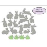 Impresión Obsesión Mini Conejitos Acero Morir Die269- N