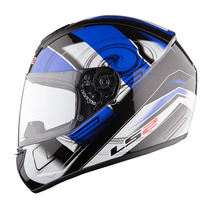Casco Integral Ls2 Ff351 Action Blanco / Azul Talla L